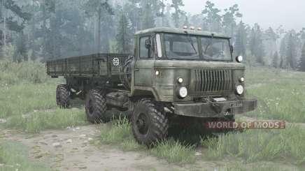GAS 66К for MudRunner
