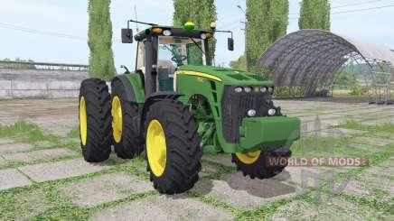John Deere 8530 dual rear for Farming Simulator 2017