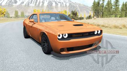 Dodge Challenger SRT Hellcat (LC) 2015 v2.0 for BeamNG Drive