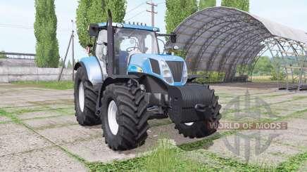 New Holland T7030 for Farming Simulator 2017