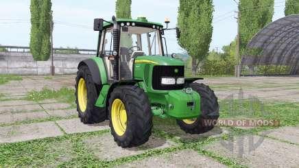 John Deere 6120 v5.0 for Farming Simulator 2017