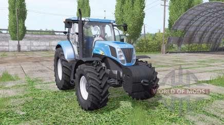 New Holland T7040 for Farming Simulator 2017