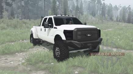 Ford F-350 Super Duty Crew Cab 2011 for MudRunner