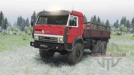 KamAZ 5350 civil for Spin Tires