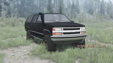 Chevrolet Suburban (GMT400) 1994 for MudRunner