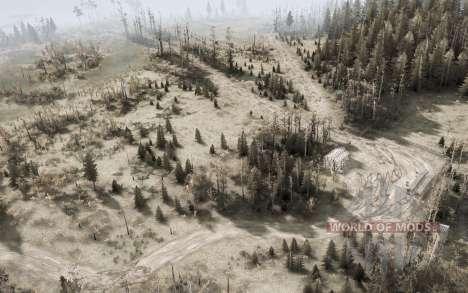 Ryazan swamps v1.1 for Spintires MudRunner