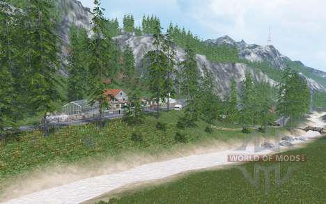 Tyrolean Alps v1.3.1 for Farming Simulator 2015