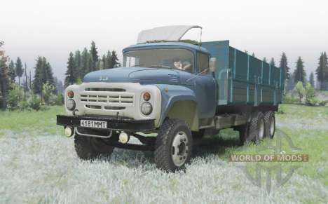 ZIL 133Г2 for Spin Tires
