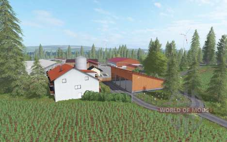 Saerbeck v1.1 for Farming Simulator 2017