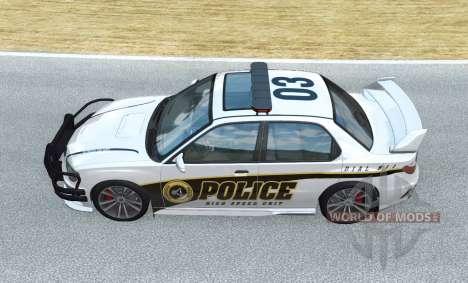 Hirochi Sunburst Police High-Speed Unit v1.0.1 for BeamNG Drive