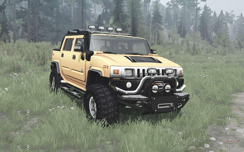 Hummer H2 SUT off-road for Spintires MudRunner