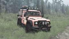 Land Rover Defender 90 Station Wagon expedition for MudRunner