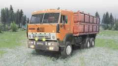 The 6x4 KamAZ 5320 v2.0 for Spin Tires