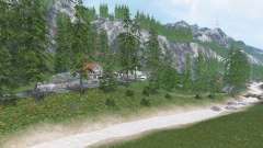 Tyrolean Alps v1.3.1 for Farming Simulator 2015