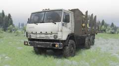 KamAZ-5320 6x6 for Spin Tires