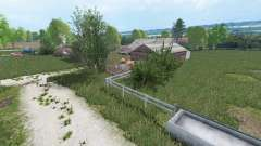Warminska Village v1.1 for Farming Simulator 2015
