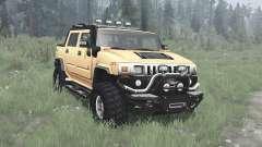 Hummer H2 SUT off-road for MudRunner