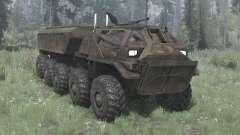 EDF Supply Truck for MudRunner