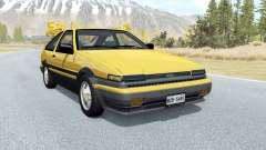 Toyota Corolla GT-S Sport liftback (AE86) 1985 for BeamNG Drive