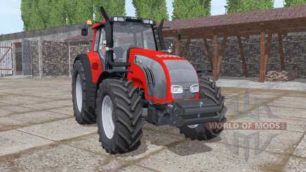 Valtra T163 red for Farming Simulator 2017
