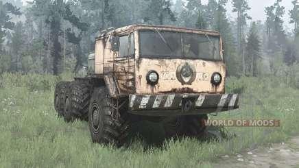 MAZ 535 6x6 for MudRunner