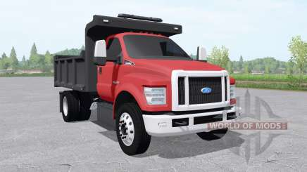 Ford F-750 Super Duty Regular Cab tipper 2017 for Farming Simulator 2017