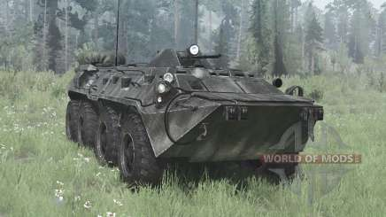 BTR-80 (GAZ-5903) for MudRunner