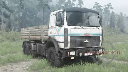 MAZ-6317 6x6 for MudRunner