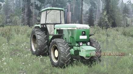 John Deere 4755 for MudRunner