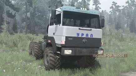 Ural 44202-3511-80 v2.0 for MudRunner