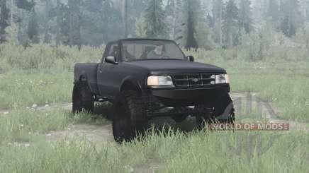 Ford Ranger Regular Cab 1997 solid axle for MudRunner