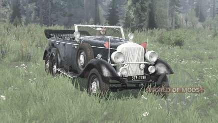 Mercedes-Benz G4 (W31) 1938 for MudRunner