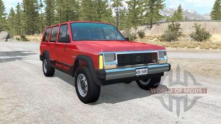 Jeep Cherokee (XJ) for BeamNG Drive