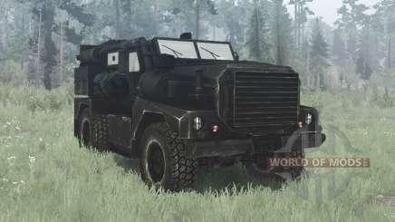 Cougar 4x4 MRAP 2002 for MudRunner