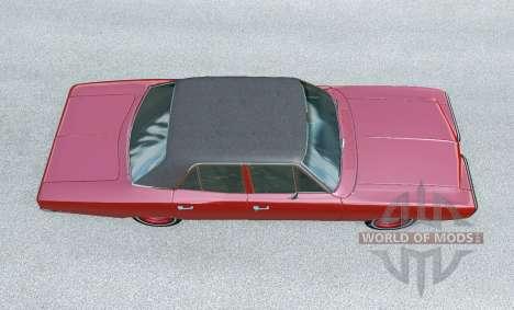 Dodge Coronet sedan (WP41) 1970 v2.22 for BeamNG Drive