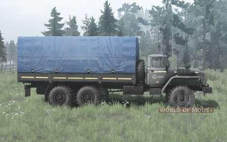 Ural 4320-60M for Spintires MudRunner