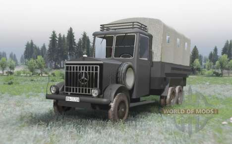 Mercedes-Benz LG 3000 for Spin Tires