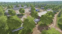 The village of Molokovo v1.8.6 for Farming Simulator 2017