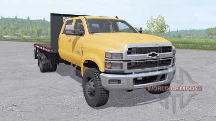 Chevrolet Silverado 4500HD Crew Cab 2018 v1.1 for Farming Simulator 2017