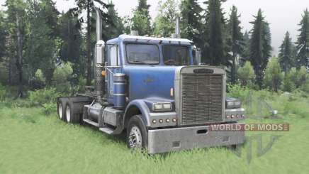 Freightliner FLD 120 SD for Spin Tires