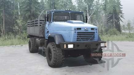 KrAZ 5131ВЕ blue for MudRunner