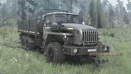Ural 4320-60M for MudRunner