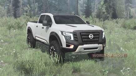 Nissan Titan Warrior concept 2016 for MudRunner