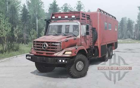 Mercedes-Benz Zetros 3643 A for Spintires MudRunner