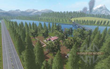 Fazenda Morro Alto for Farming Simulator 2017
