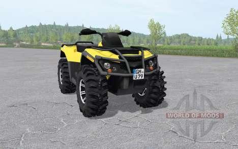Can-Am Outlander 1000 XT for Farming Simulator 2017