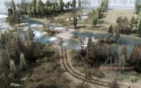 Outskirts of the city for Spintires MudRunner