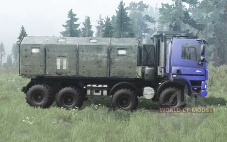 Tatra Phoenix T158 8x8 blue for Spintires MudRunner