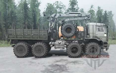 KamAZ 63501 Polar for Spintires MudRunner