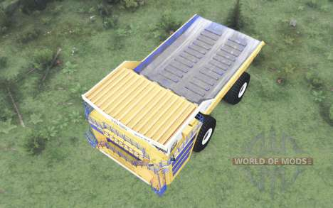 BelAZ 75710 2013 for Spin Tires